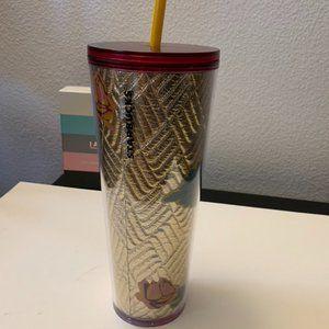 Starbucks Quilted Rose Tumbler